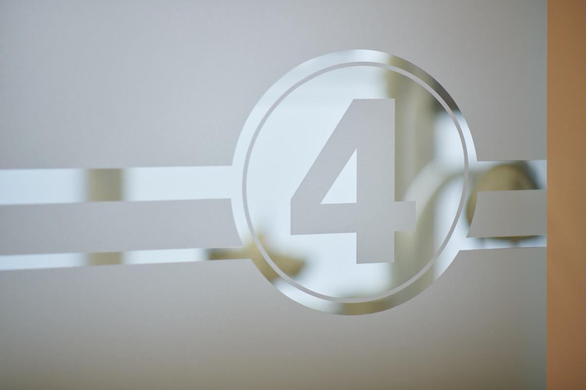 Vier Behandlungszimmer